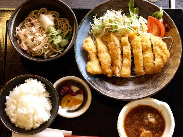 チキンカツ定食(おろしポン酢)900円