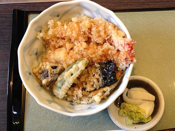 天丼 830円