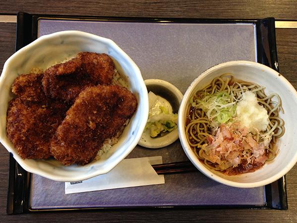 ソースカツ丼(セット)980円